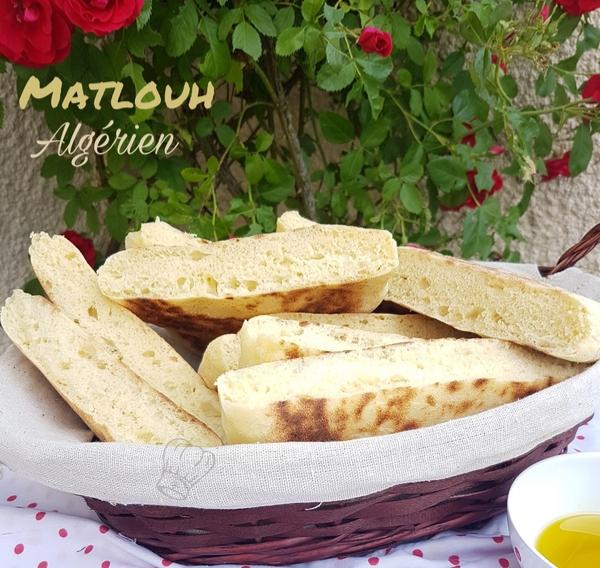 Matlouh ou Pain Algérien