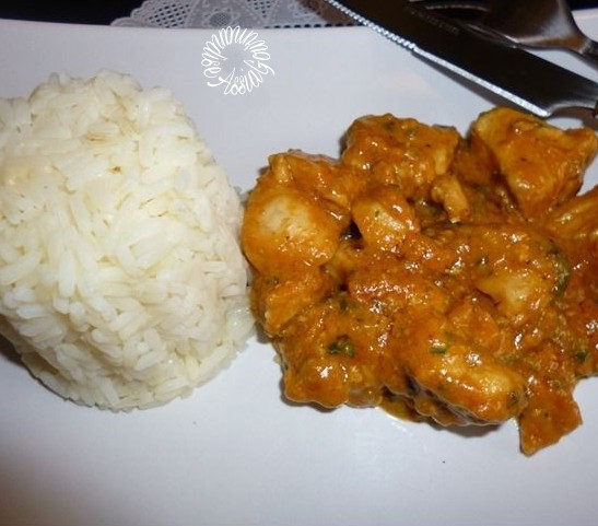 Mafé au Poulet et beurre de cacahuètes Recette Africaine