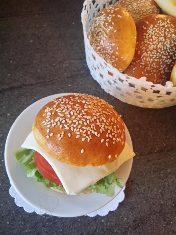 Pain Burger au Ribot
