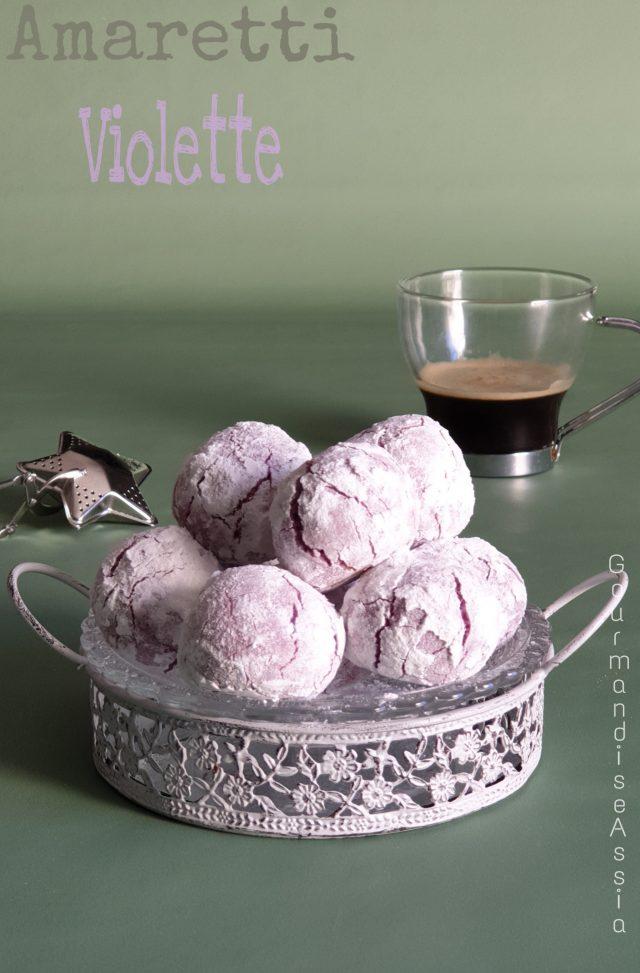 Amarettis à la Violette