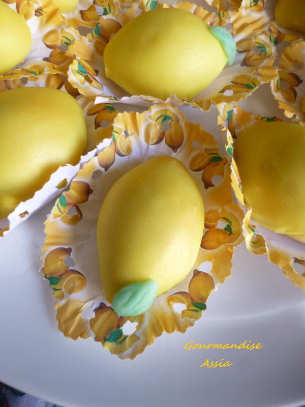 Sablés Fondants Glacés au Citron