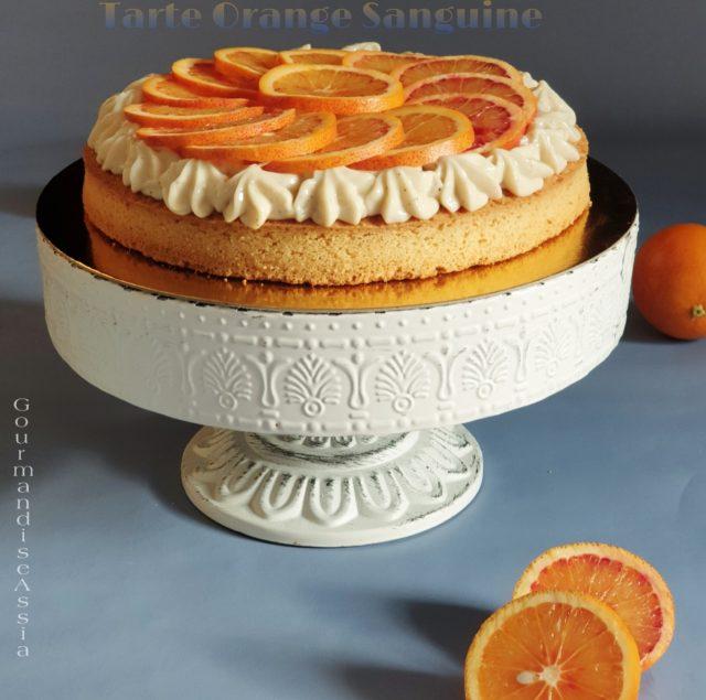 Tarte à l'Orange Sanguine