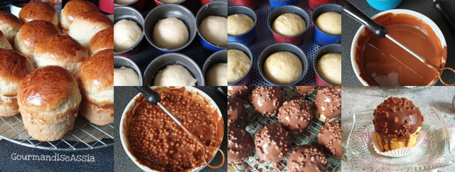 Brioche Soufflée au Chocolat