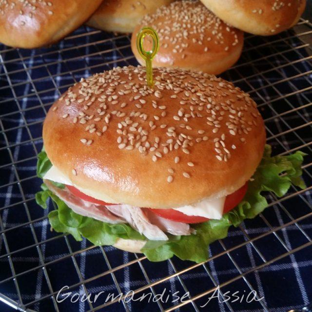 Véritable Pain à Hamburger