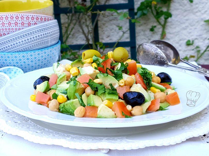 Salade D Avocat A L Huile De Pistache Gourmandise Assia