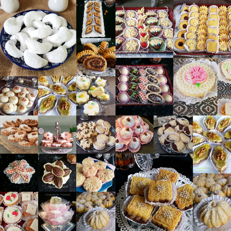 Gâteaux pour Aid el Fitr 2019