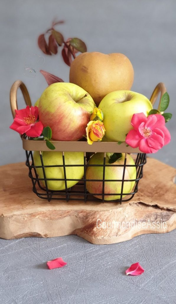 Sbriciolata aux Pommes et Noisettes