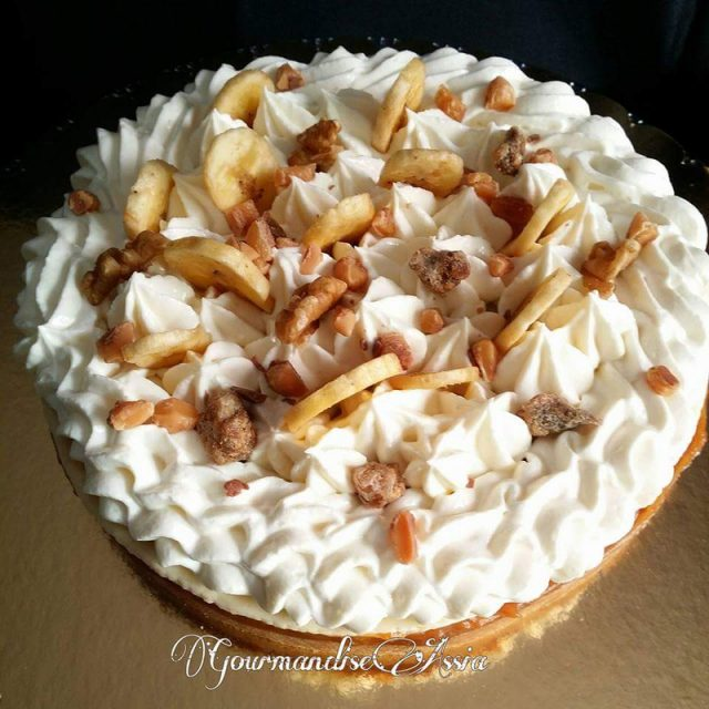 Panoffee Pie ou Tarte Banoffee au Thermomix