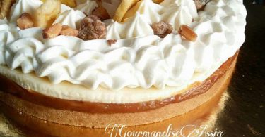 Panoffee Pie ou Tarte Banoffee au Thermomix