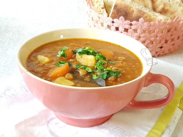 Soupe de Lentilles Carotte et Pomme de Terre