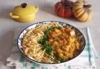 Curry de Courge et Spaetzle