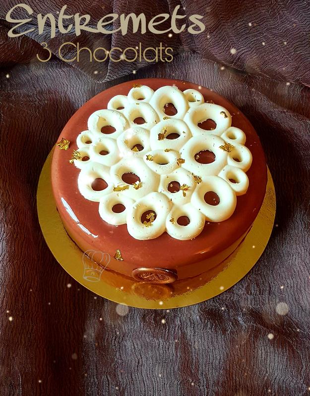 Entremets 3 Chocolats de Christophe Felder