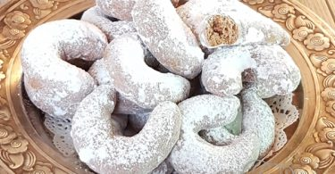 VanilKové rohlíčky Biscuits Tchèques
