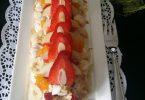 Pavlova au Fruits et Chantilly Mascarpone aux Spéculoos et Combava