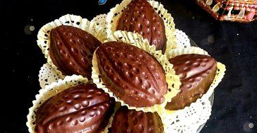 Cabosse de Chocolat en Biscuit
