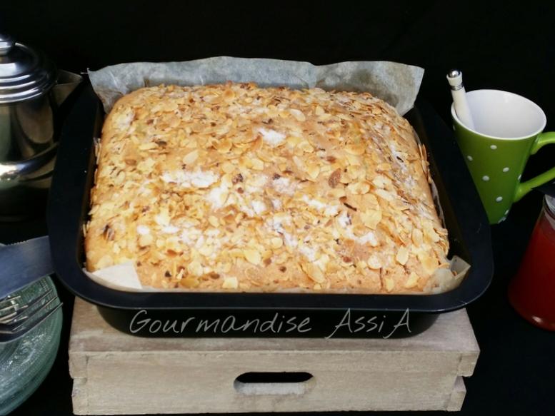 Gâteau Magdalena au Citron