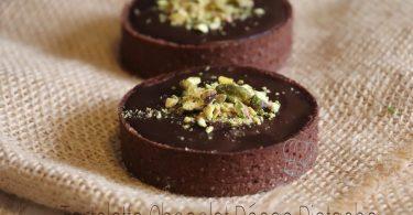 Tartelettes Chocolat Pécan Pistache