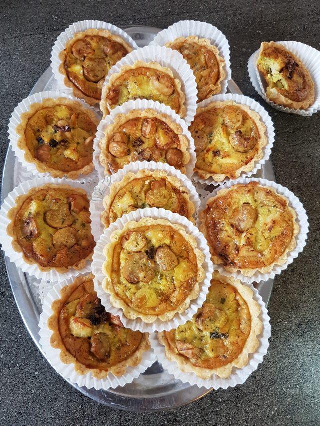 Tartelettes Poulet Olives