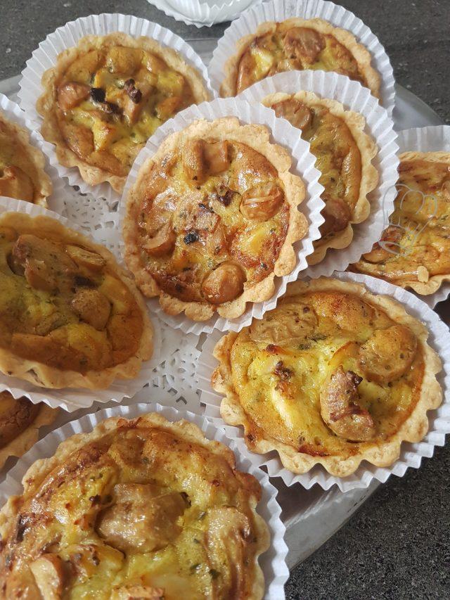 Tartelettes Poulet Olive et Tomate Séchée au Tandooris