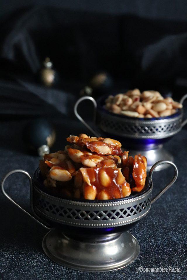 Éclats de Nougat aux Cacahuètes