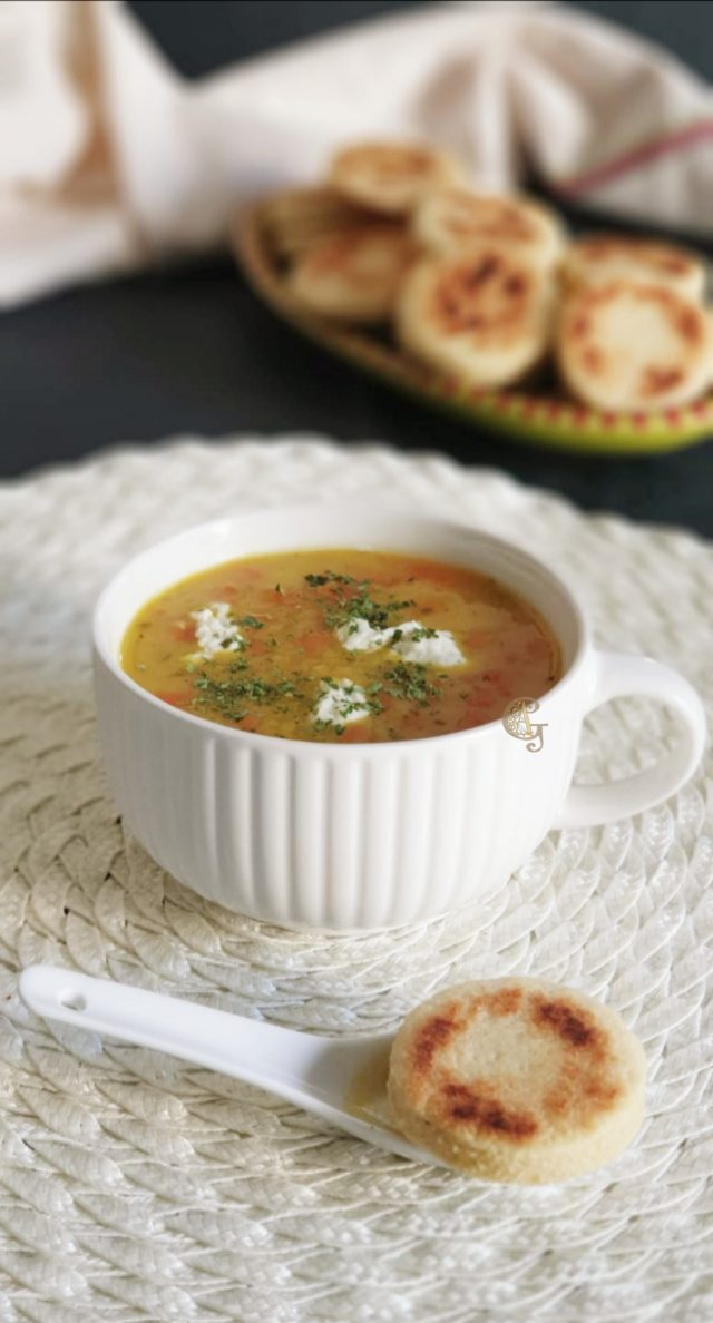 Soupe Carotte Pomme de Terre et Lentille Corail