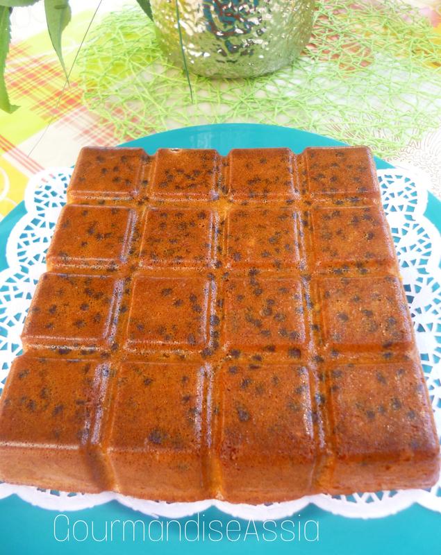 Moelleux au Caramel et Chocolat