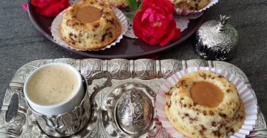 Gâteaux au Yaourt Tigrés au Caramel