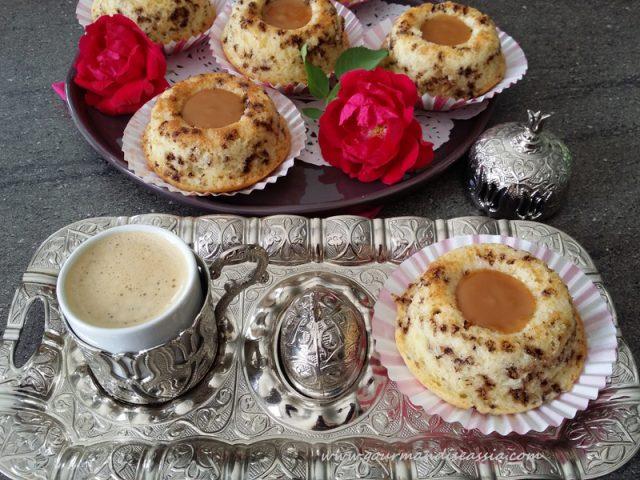 Gâteaux Tigrés au Yaourt et Caramel