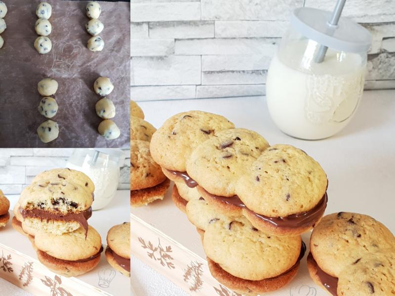 Cookies sandwich au Chocolat