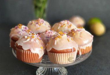Muffins au Citron Zebré ou Tigré