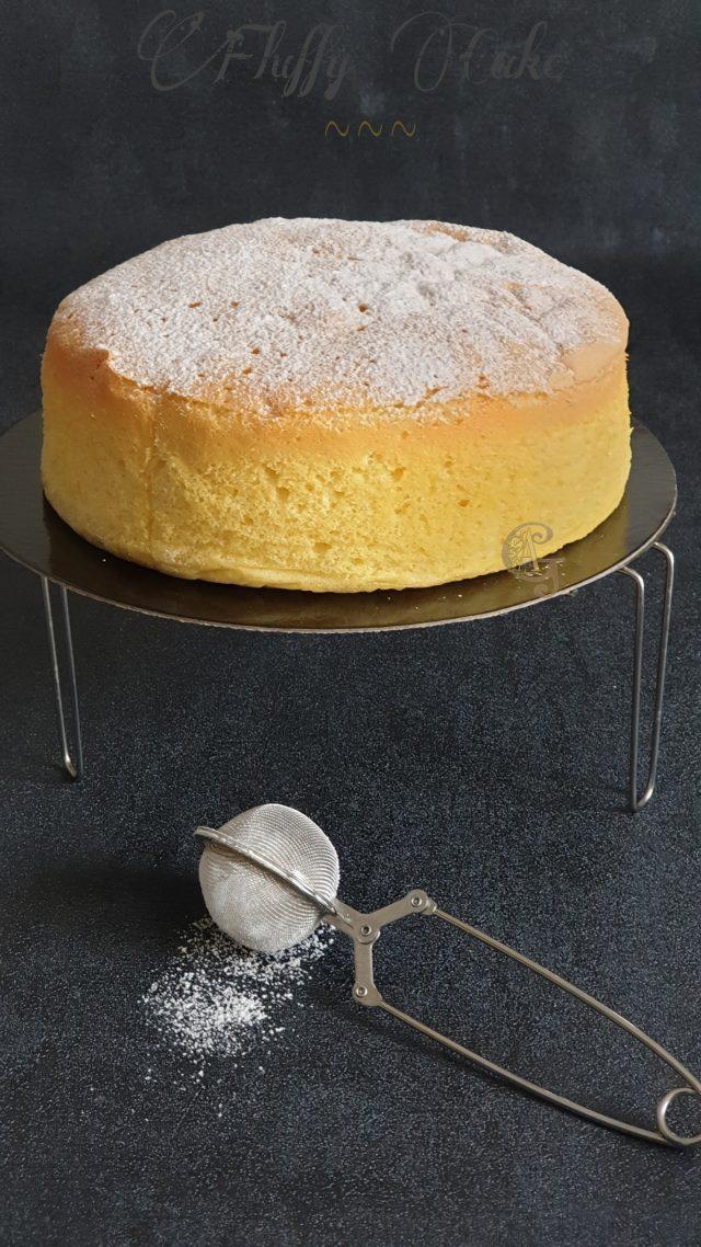Fluffy ou Jiggly Cake Gâteau Japonais