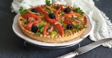 Tarte Poireaux à la Sardine et Tomate