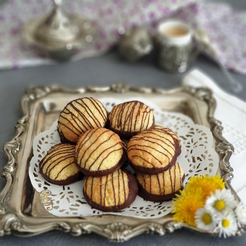 Biscuits Coco Citron Chocolat