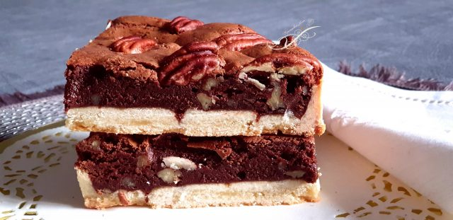 Tarte et Tartelette Brownies aux Noix de Pécan