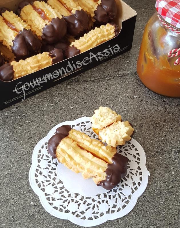 Biscuis Viennois ou Spritz à la Vanille Chocolat et Caramel