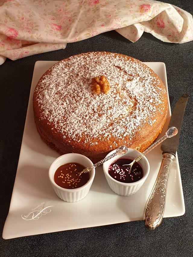 Gâteau au Yaourt à la Vanille de ma Fille