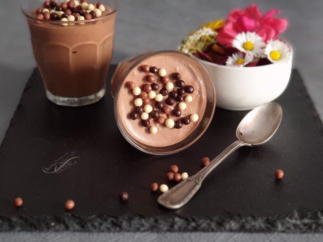 Mousse au Chocolat Mascarpone au Thermomix