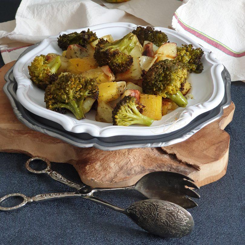 Légumes Rôtis Brocoli et Courge Spaghetti