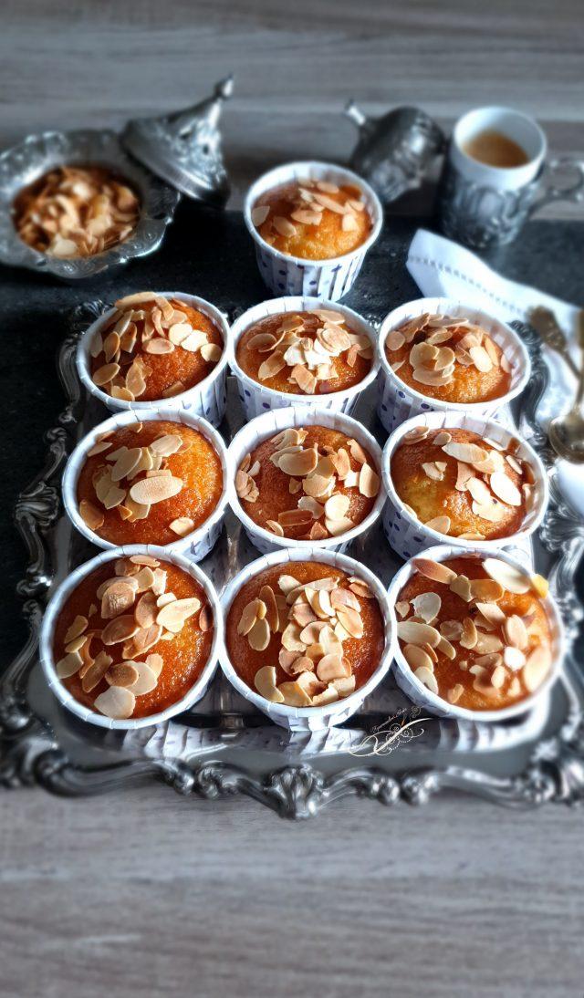 Basboussa Muffin