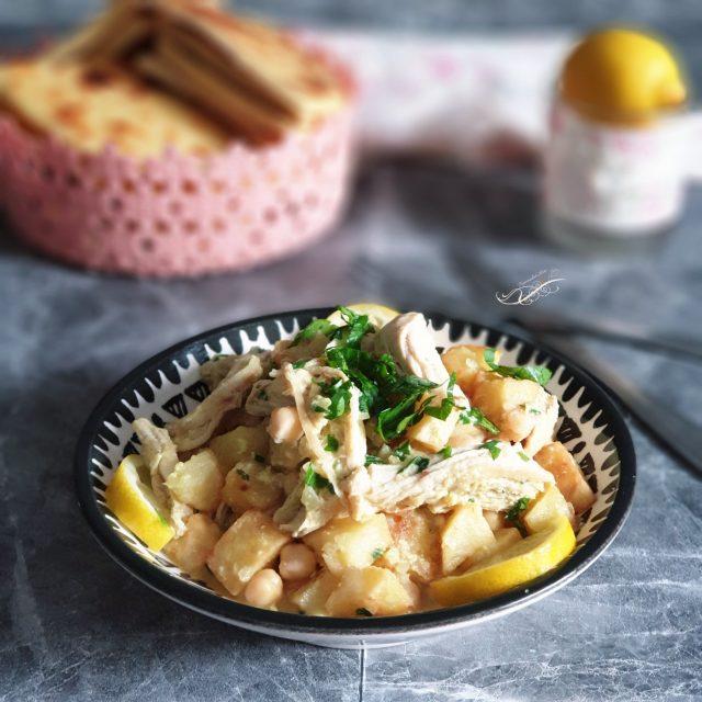 Kebab ou Kbab Algérois {Frites en Sauce au Poulet}