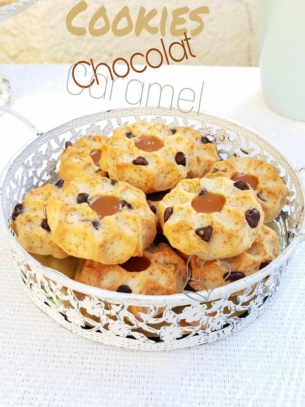 Cookies au Chocolat et Caramel