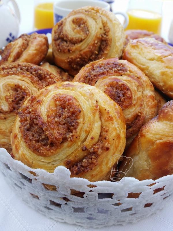 Pâte à Couque et Spirale Feuilletés au Pralin Maison