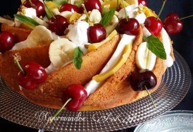 Bundt Cake aux Amandes et Fruits