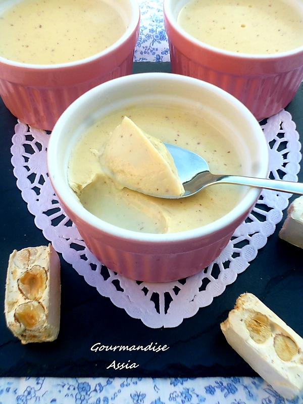 Crème Dessert au Nougat