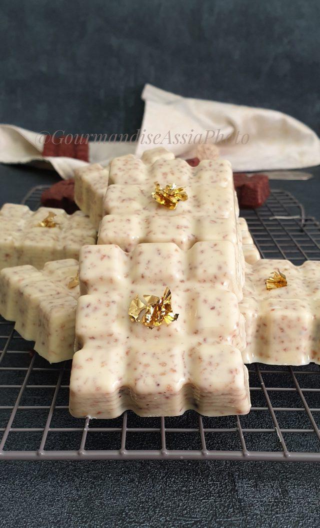Mini Cakes Tablettes au Chocolat et Glaçage Gourmand
