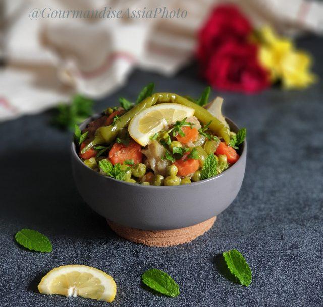 Tajine Végétarien aux Légumes de Saison