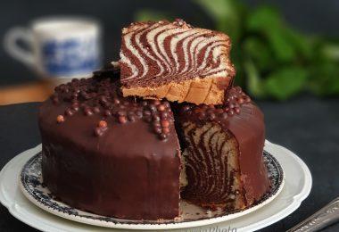 Cake Zebré ou Zebra Cake
