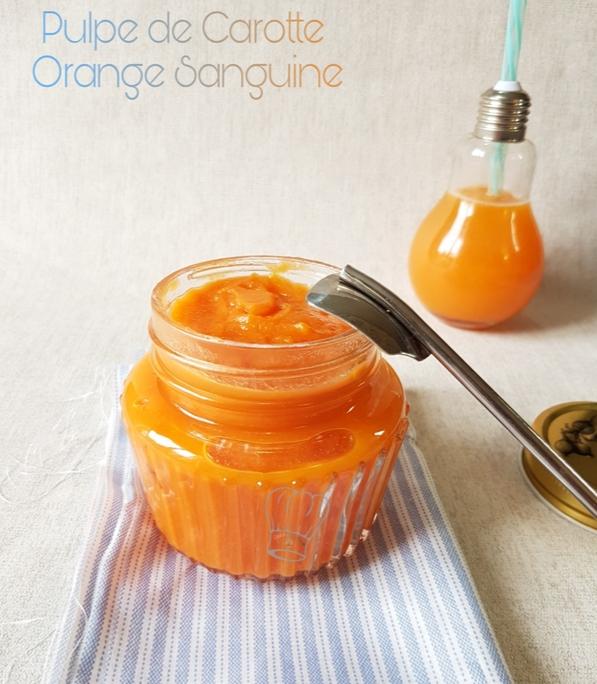 Pulpe de Carotte et Orange Sanguine