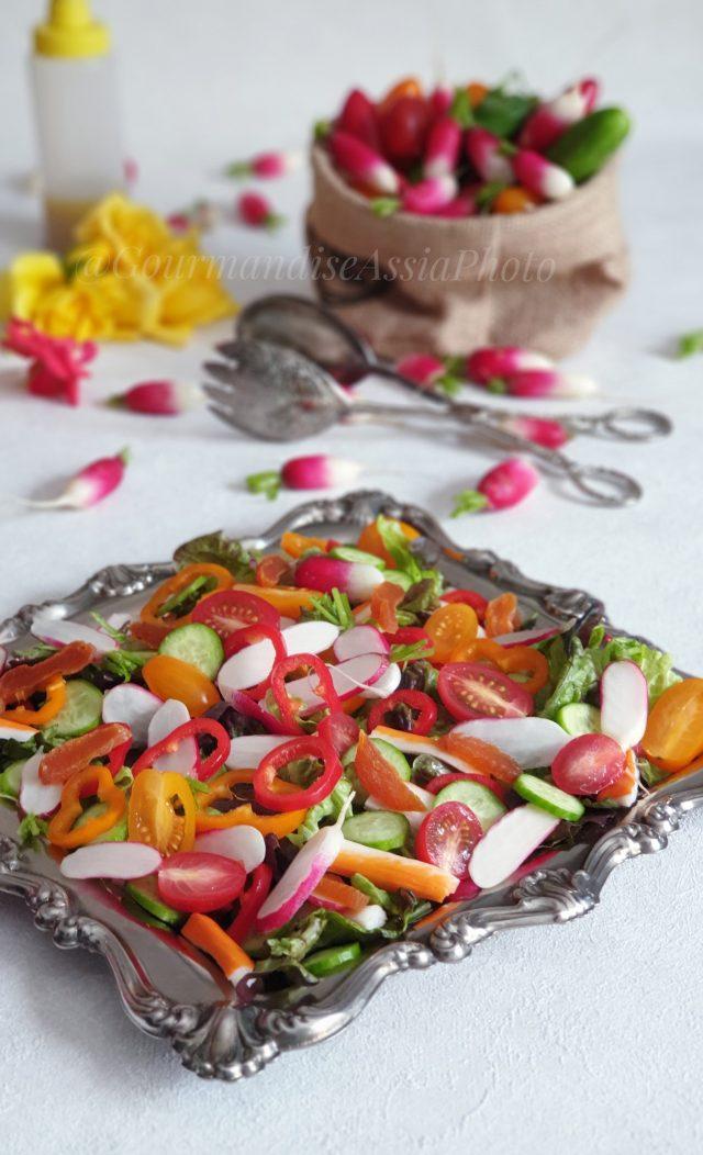 Salade de Radis Roses
