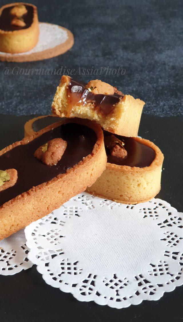 Tartelettes au Chocolat et Caramel au Muscovado